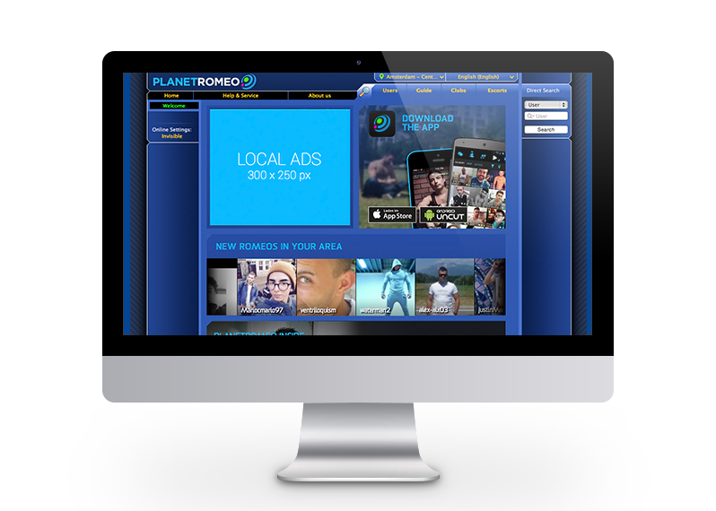 Planetromeo Classic Login Markered
