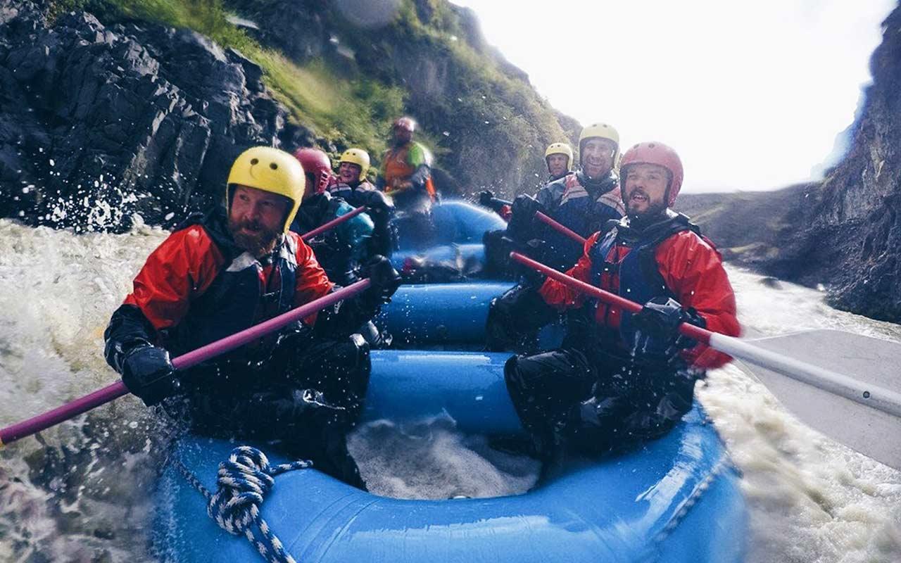 White Water Rafting Iceland