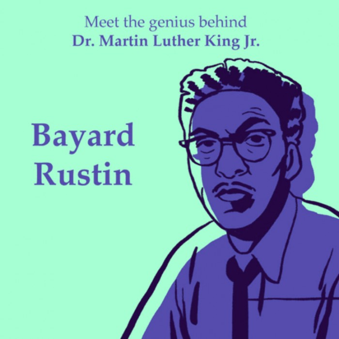 Queer Black History: Bayard Rustin Courtesy of Giphy via @foxadha