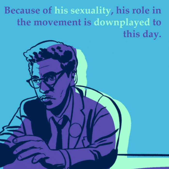 Queer Black History: Bayard Rustin