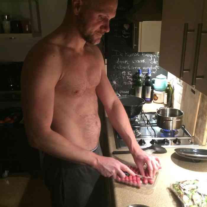 Eat Gay Love: Dennis & Tony - Figs and Mozzarella