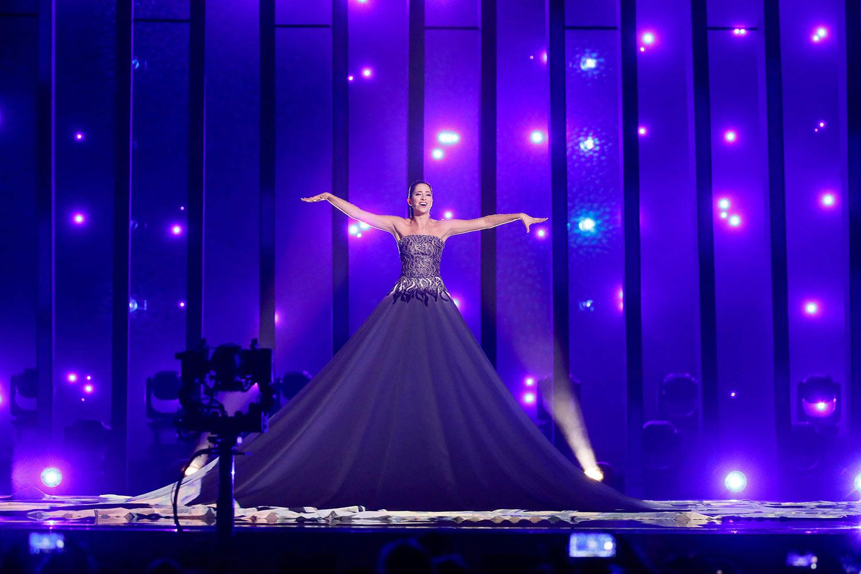 Estonia, Elina Nechayeva with 'La Forza!' Eurovision 2018 Lisbon Favorite