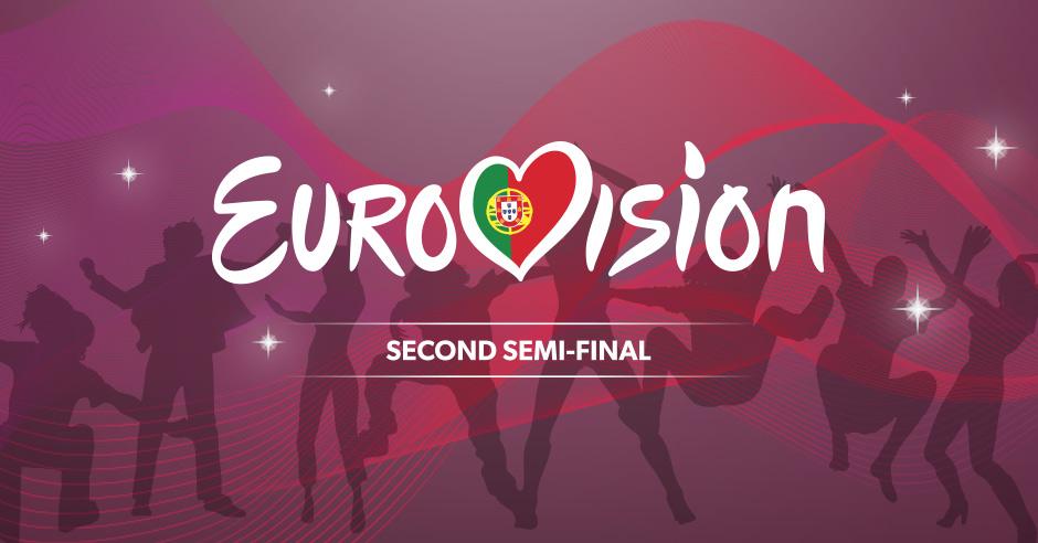 Eurovision Second Semifinal - Cheat Sheet - Lisbon 2018