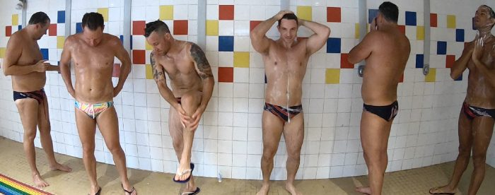 Team Miami Vice hit the showers Gay Games