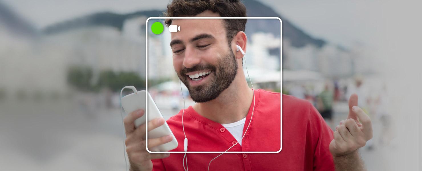 VideoChat es una opción en nuestras apps para iOS y Android